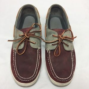 Sperry men leather boat shoes size 12